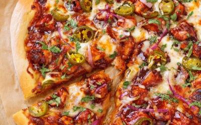 GEORGIA EARLE'S BBQ CHICKEN PIZZA